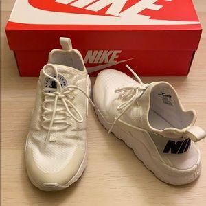 Nike Air Huarache Run Ultra White Shoes